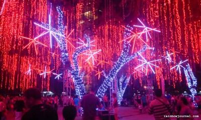 2014 Ayala Triangle Lights and Sounds Show