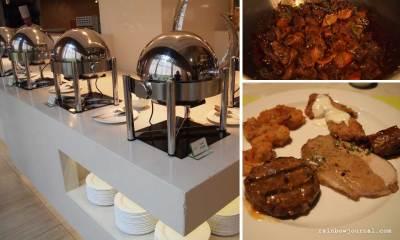 Main course at Midas Café Buffet at Midas Hotel and Casino