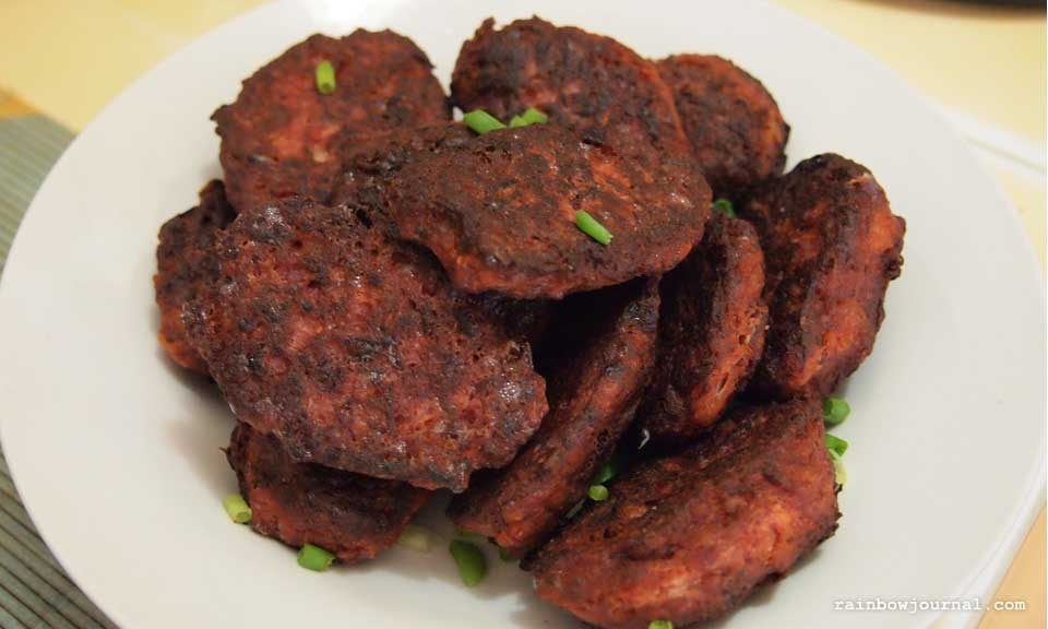 Fried Corned Beef Balls