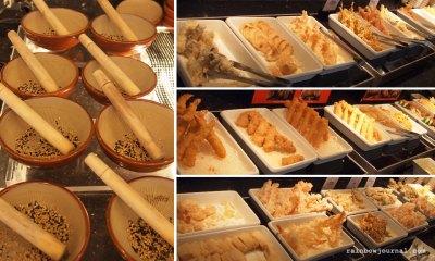 Katsu and Furai dishes at Sambo Kojin