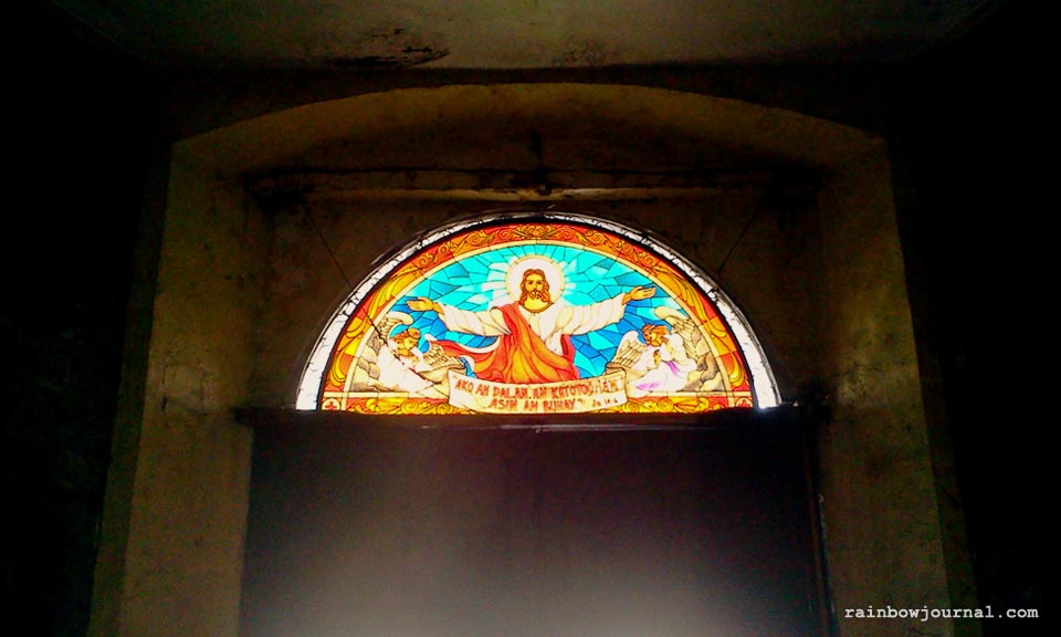 Inside St. Gregory at Legazpi City, Naga