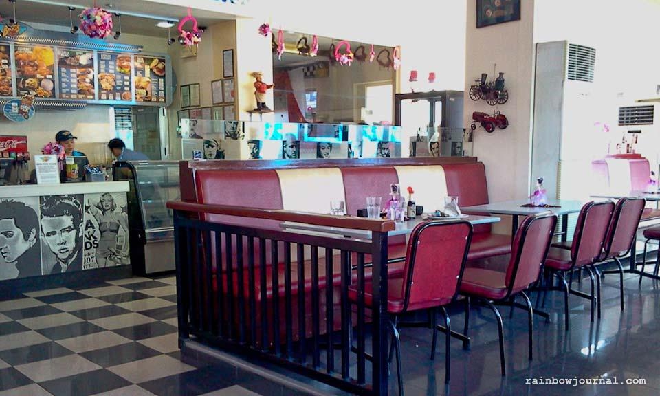 Interiors of Bigg's Diner