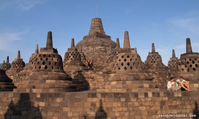 Sunrise tour of Borobudur temple in Indonesia
