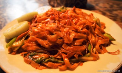 Mie Goreng by Rajasa Hotel near Borobudur temple in Indonesia