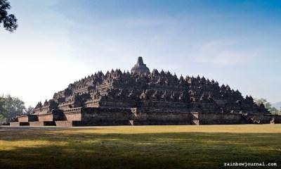 The Majestic Borobudur temple in Indonesia