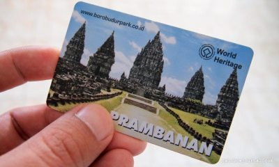 Ticket to Prambanan temples in Indonesia