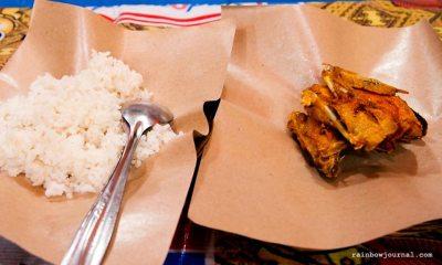 Ayam Goreng at one of the Lesahan along Malioboro Street, Yogyakarta, Indonesia