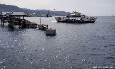 Ketapang Port in Banyuwangi, Indonesia - On our way to Bali