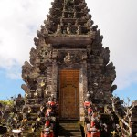 No admission fee in Pura Ulun Danu Batur, entry is by donation