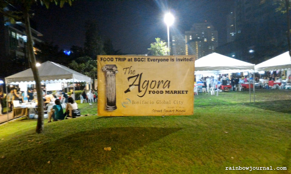 The Agora Food Market at BGC: Food Lovers Assemble