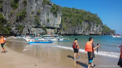 Puerto Princesa Underground River Tour - Beach to underground river