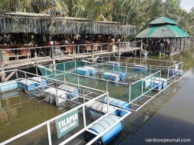 Fish pen at Ciudad Elmina in Pangasinan