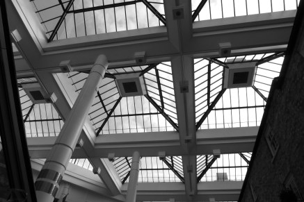 Week 44: The Marland's Shopping Centre, Southampton, roof.