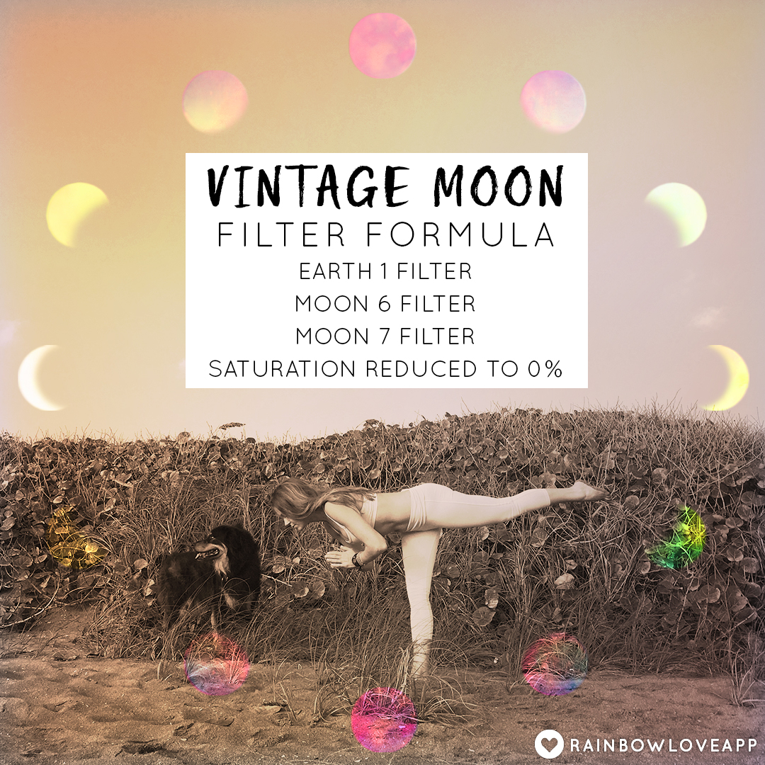 Rainbow-Love-App-Best-Photo-Editing-App-For-Adding-Rainbow-Filters-And-Art-To-Your-Instagram-Yoga-Challenge-Photos-Vintage-Moon-Filter-Formula