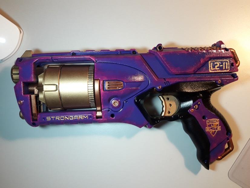 LS-11 Nerf Strongarm Mod