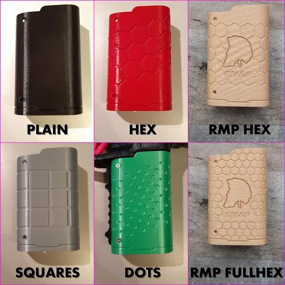 Gecko grip variants