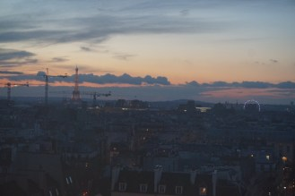 A view from the Centre Pompidou