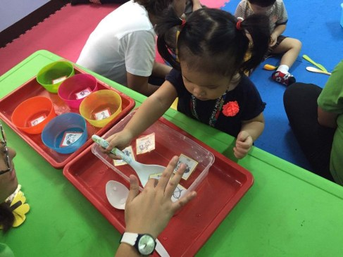 Hands on learning is an effective tool