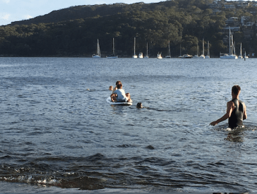 paddling one