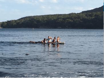 paddling two
