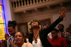 Elsewhere, some black churches are opening their hearts and doors to all.