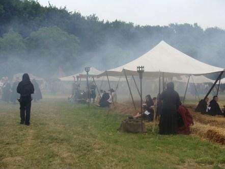 Mittelalterliche Szene