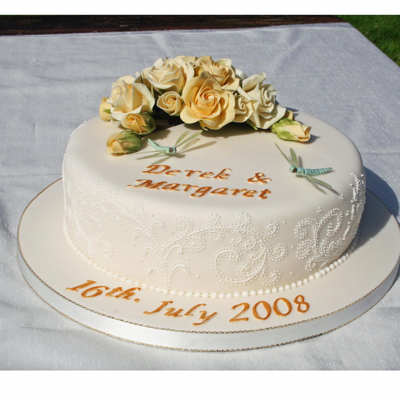 Anniversary Cakes Wedding Cakes Edinburgh Scotland
