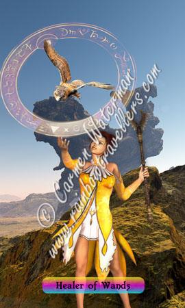 © 2015 Carmen Waterman - The Healer of Wands