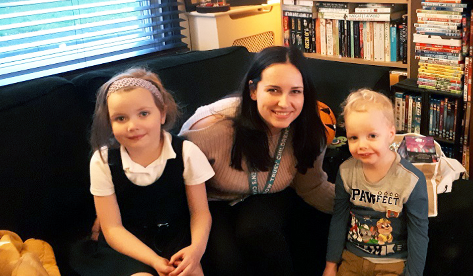 Family Support Worker brings joy to family caring for a seriously ill child  Rainbow Trust
