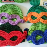 Teenage Mutant Ninja Turtle Beanie | Crochet Pattern