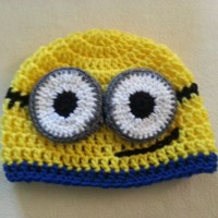 Minion Beanie | Crochet Pattern