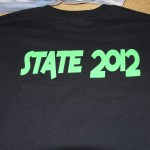 State 2012 Drill team t-shirt