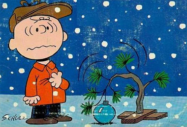 The Charlie Brown Christmas Tree leads to yet another Merry Fucking Christmas