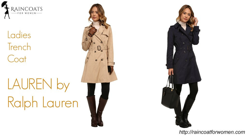 Ladies Trench Coat LAUREN by Ralph Lauren