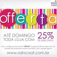"""""""Offerta"""" Rain Coat"""