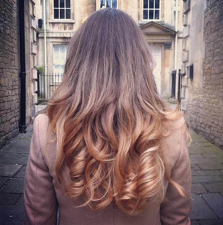 How To Curl Your Hair With GHD Hair Straighteners Tutorial