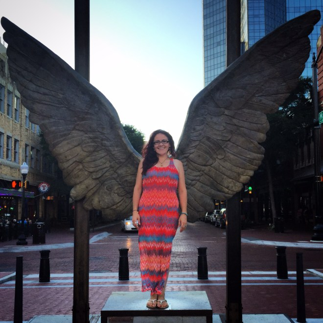 I found my wings!