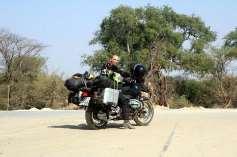 Upon entering Botswana