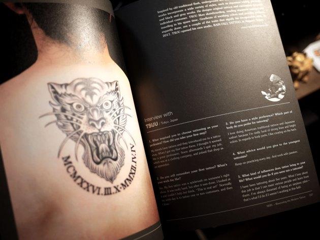 タトゥーの本
