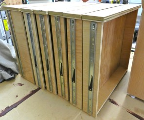 Finishing the Drawers