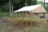 Making a Tent Fly | Rainford Restorations