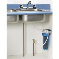 Kitchen Water Filters Trash Can Undersink Filter Faucet Separate Not Required Shop Home For