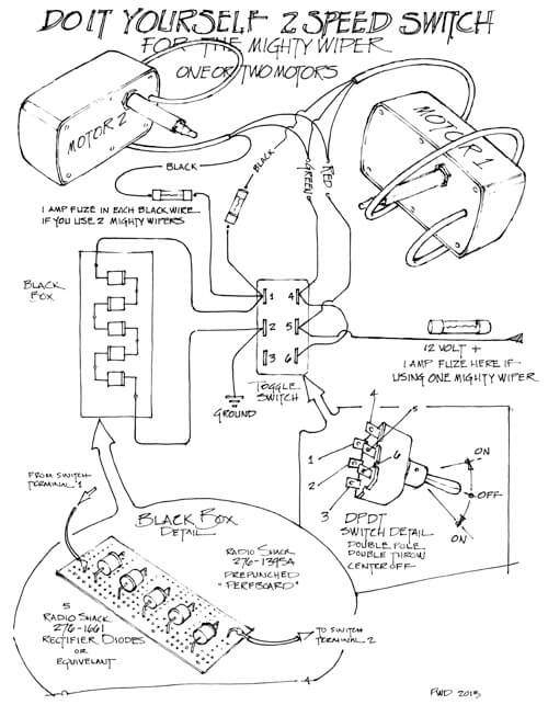 wiper motor wiring diagram pdf