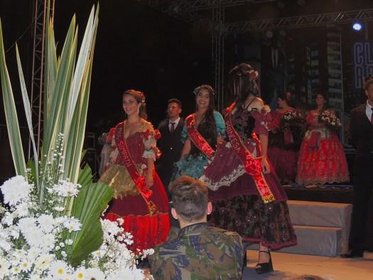 Princesas e Miss Simpatia do Festival.