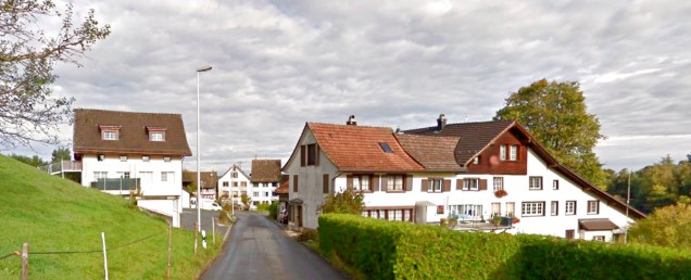 Chlausen, Horgerberg -- from Google Earth