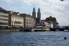The Limmat in Zürich -- photo by Stephen Taylor