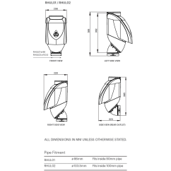 Inside Of A Leaf Diagram 99 Jeep Grand Cherokee Power Window Wiring Eater Ultra Rain Head Harvesting By Blue Mountain Co Specifications