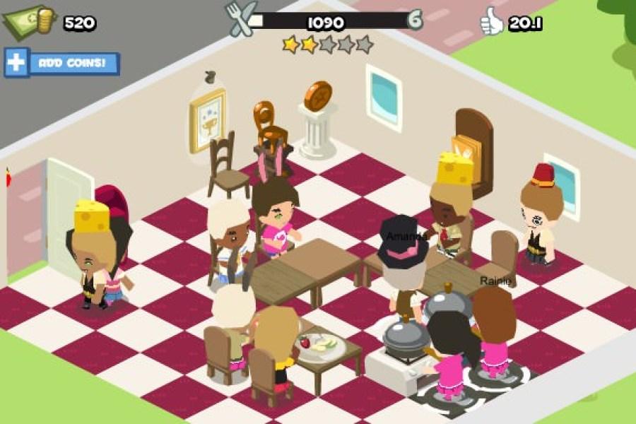 [GAME] Restaurant City