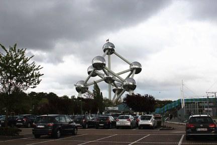[比利時] 布魯塞爾 Brussels @ 原子球塔 Atomium