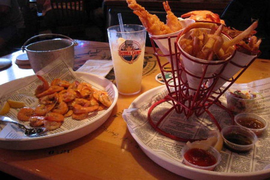 紐約 | Bubba Gump Times Square 時代廣場阿甘蝦餐廳,Shrimp Shrimp!!!